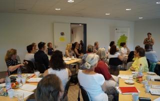 Netzwerktreffen der hessischen Mehrgenerationenhäuser bei Billabong im Juni 2018